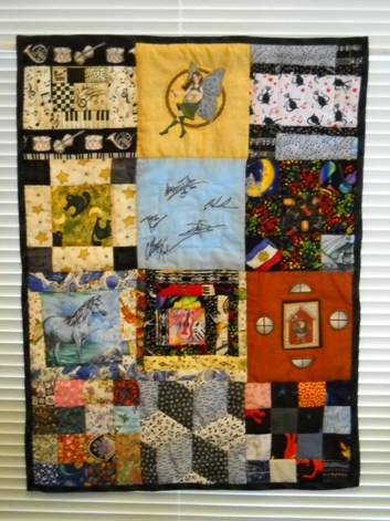 completed 2010 quilt