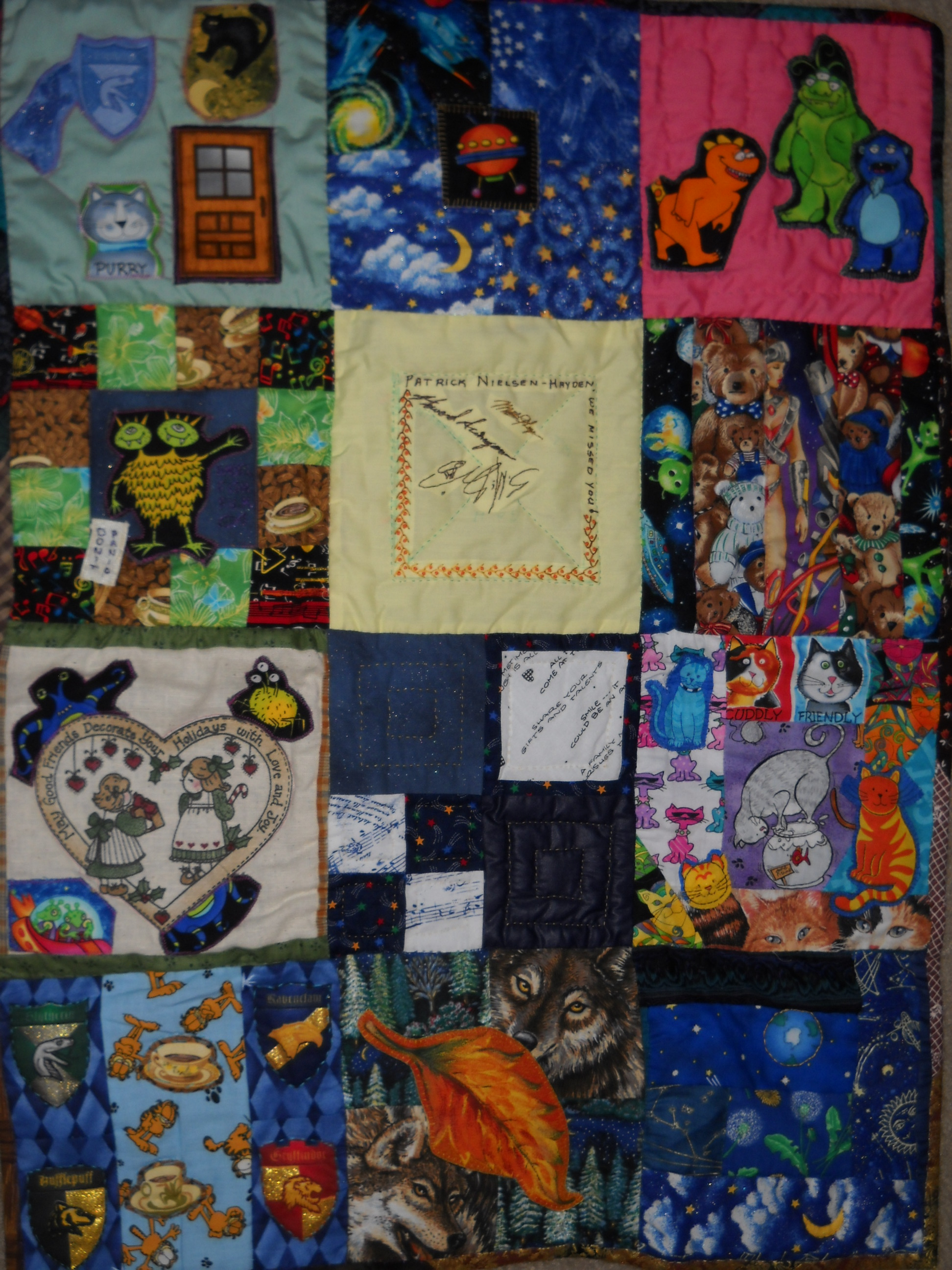 2011 quilt finished