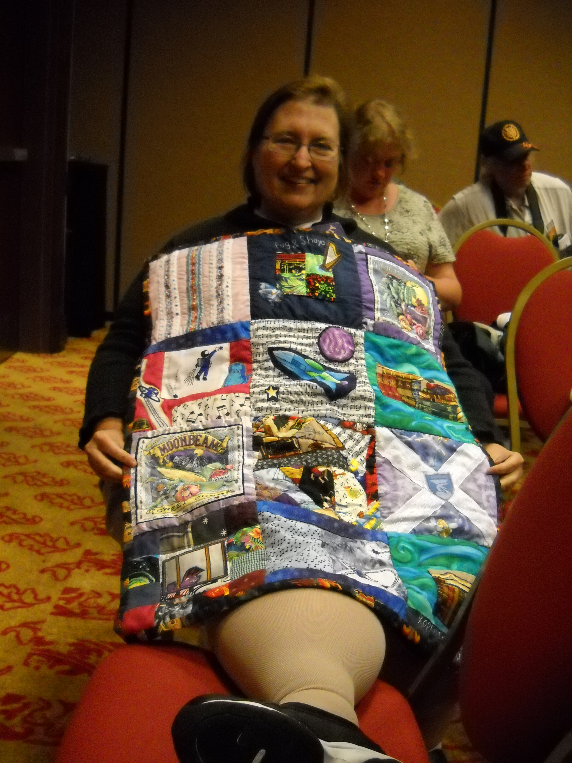 2012 quilt and winner