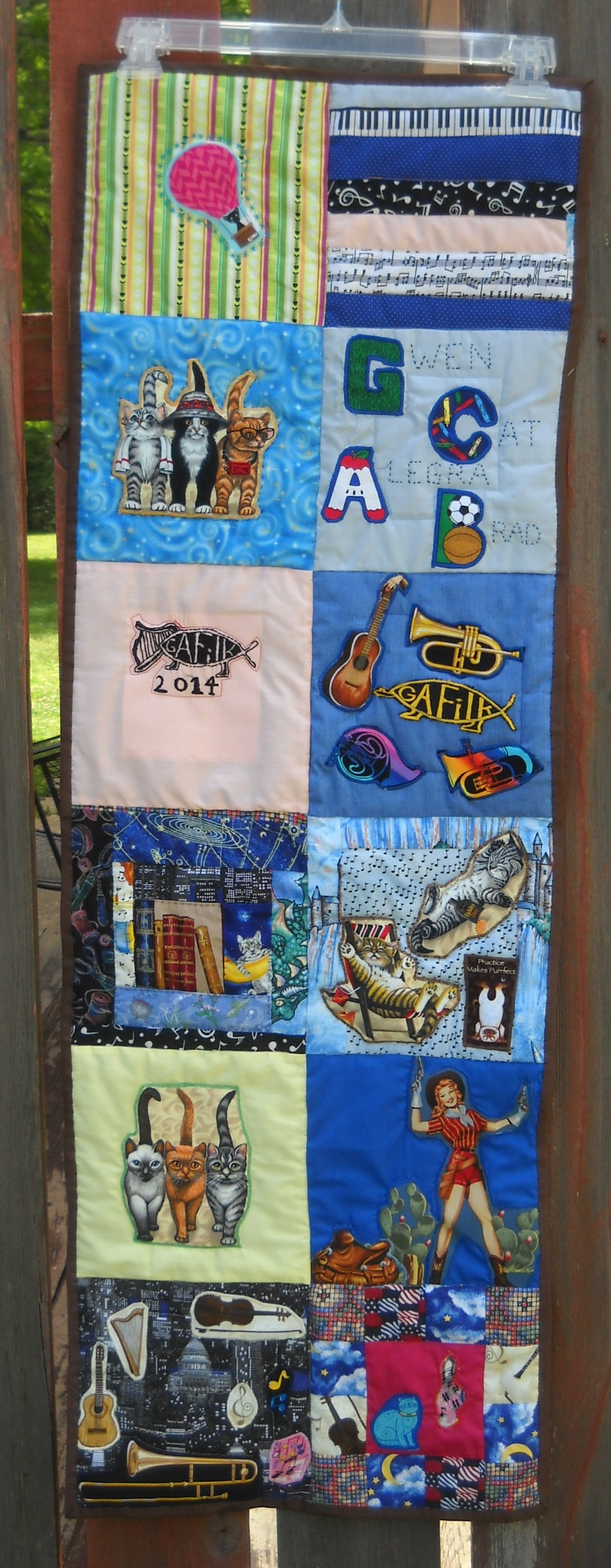 finished 2014 quilt