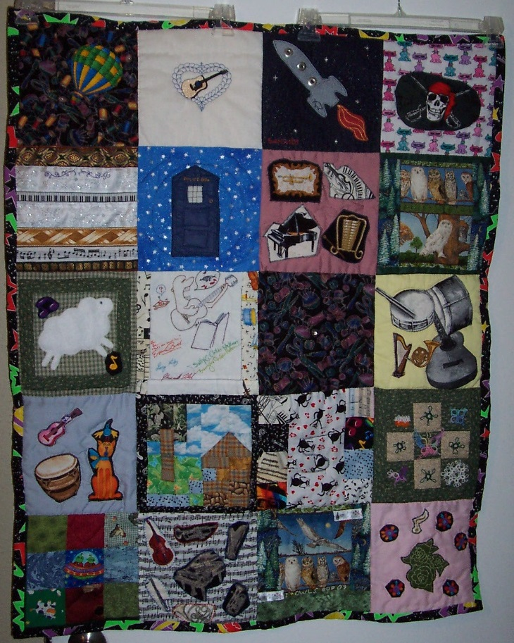 2009 finished quilt