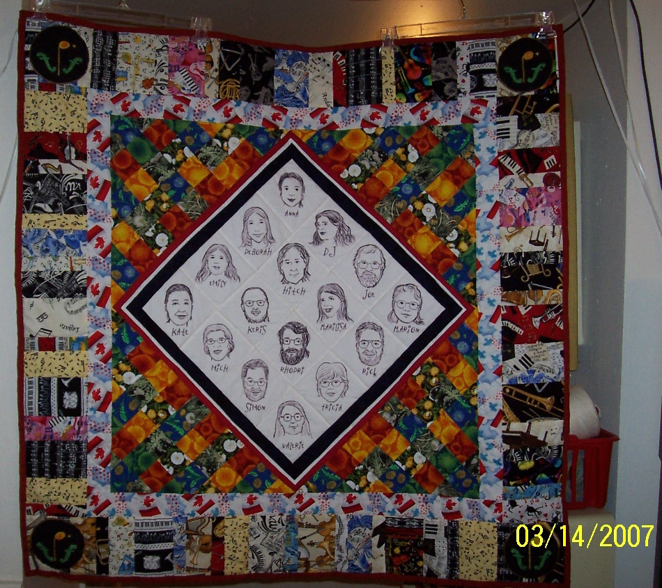 NMC finished quilt